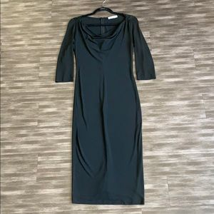 NWOT Dolce & Gabbana Cowl Neck Dress
